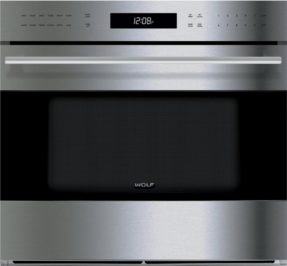 Wolf So30testh 30 Inch Single Electric Wall Oven With True