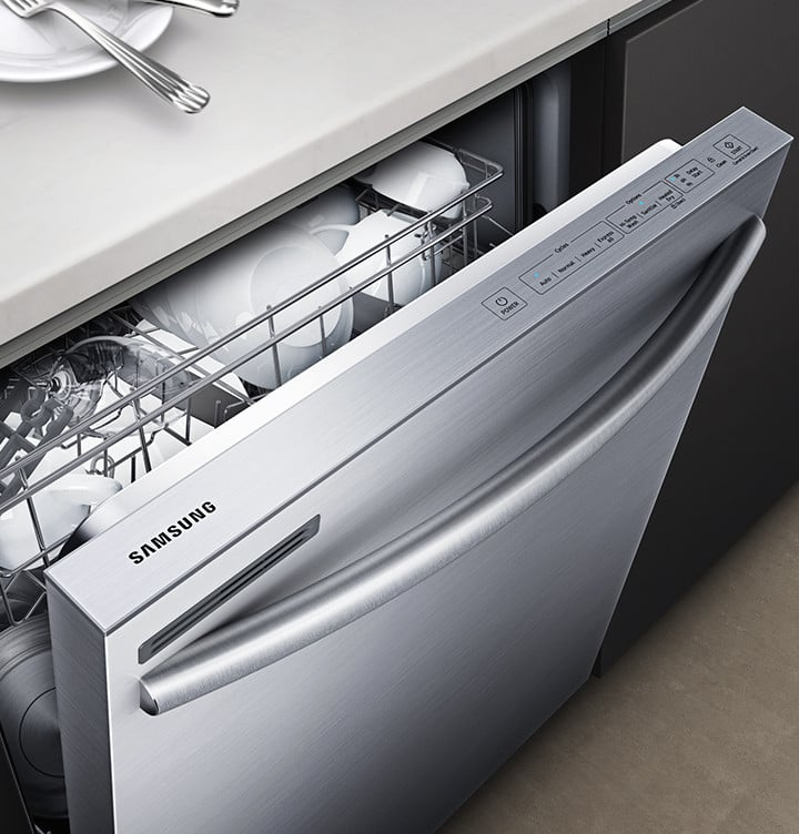 Samsung Dw80m2020us Fully Integrated Dishwasher With