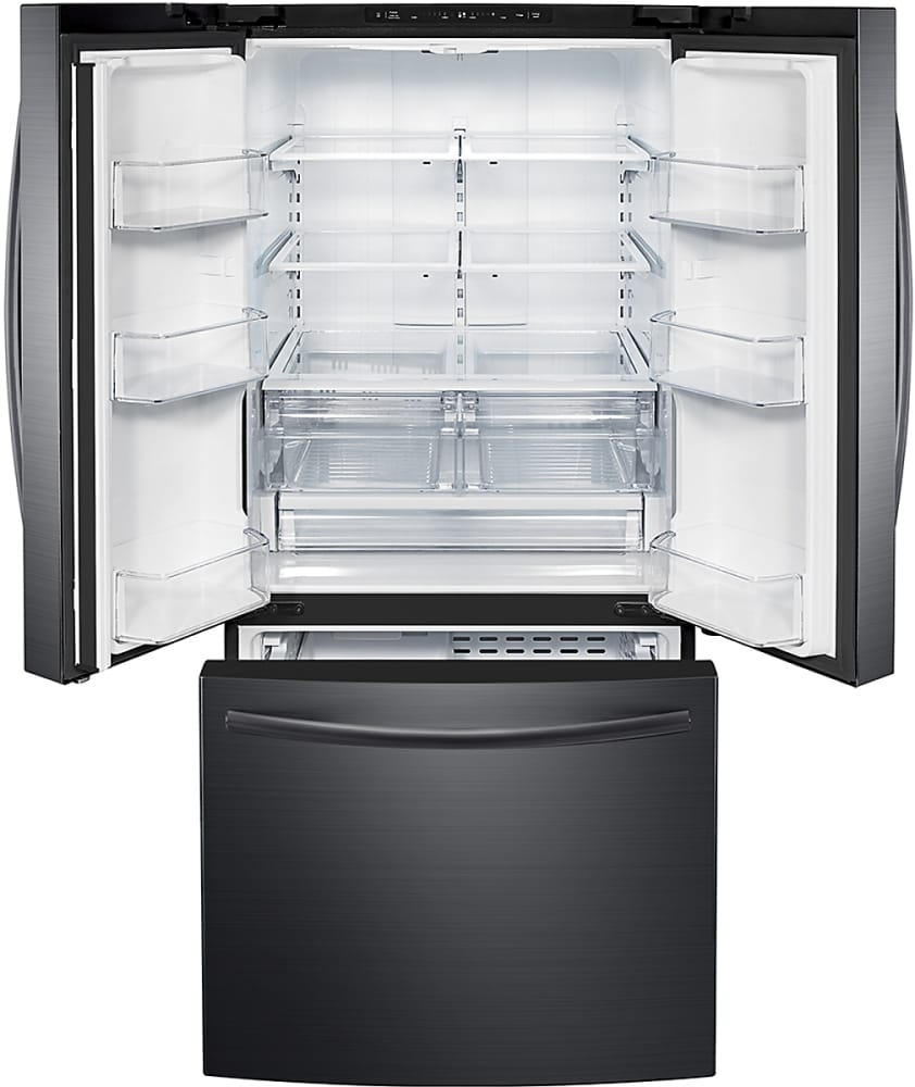 Samsung Rf220nctasg 30 Inch French Door Refrigerator With