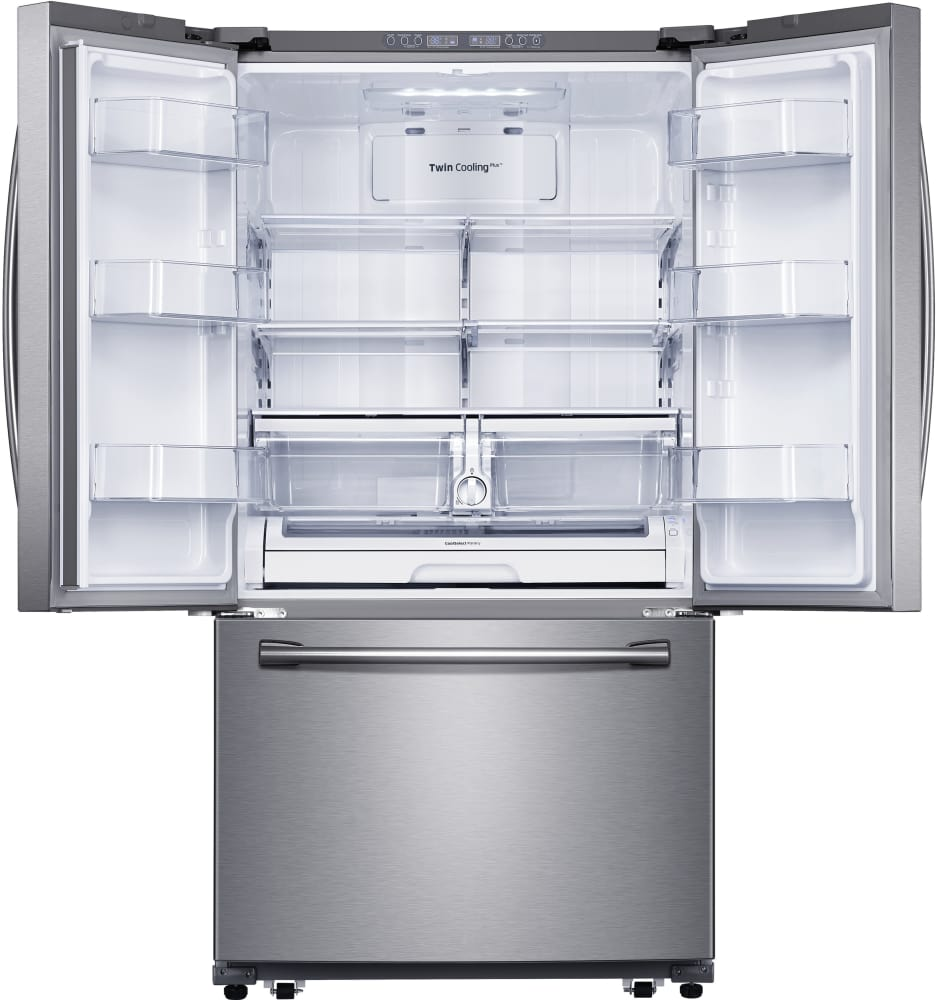 Samsung Rf260beaesr 36 Inch French Door Refrigerator With