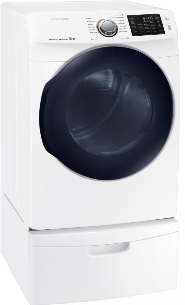 Samsung Dv45k6200ew 27 Inch 7 5 Cu Ft Electric Dryer