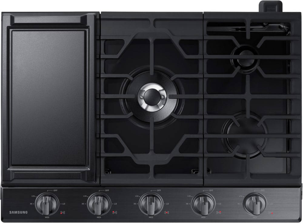 Samsung Na30k6550tg 30 Inch Gas Cooktop With 5 Sealed