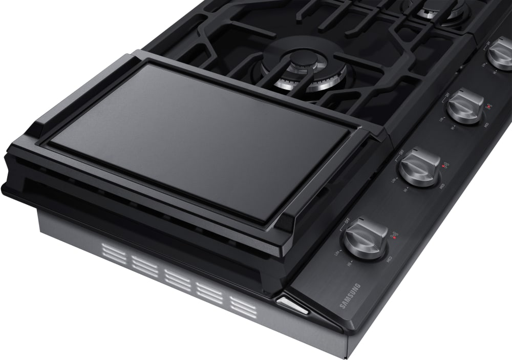 Samsung Na36k6550t 36 Inch Gas Cooktop With 5 Sealed