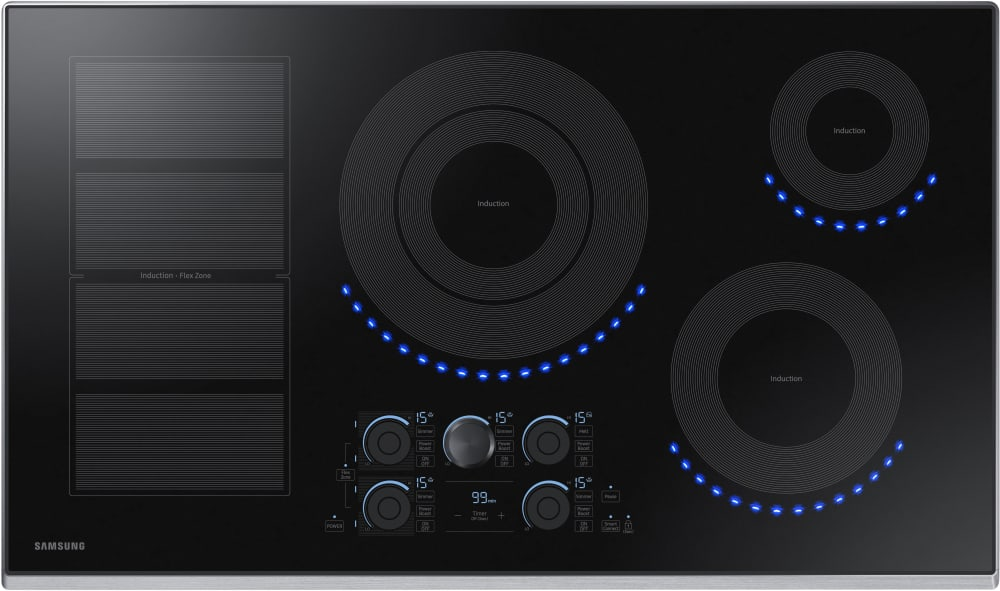 Samsung Nz36k7880us 36 Inch Induction Cooktop With Flex