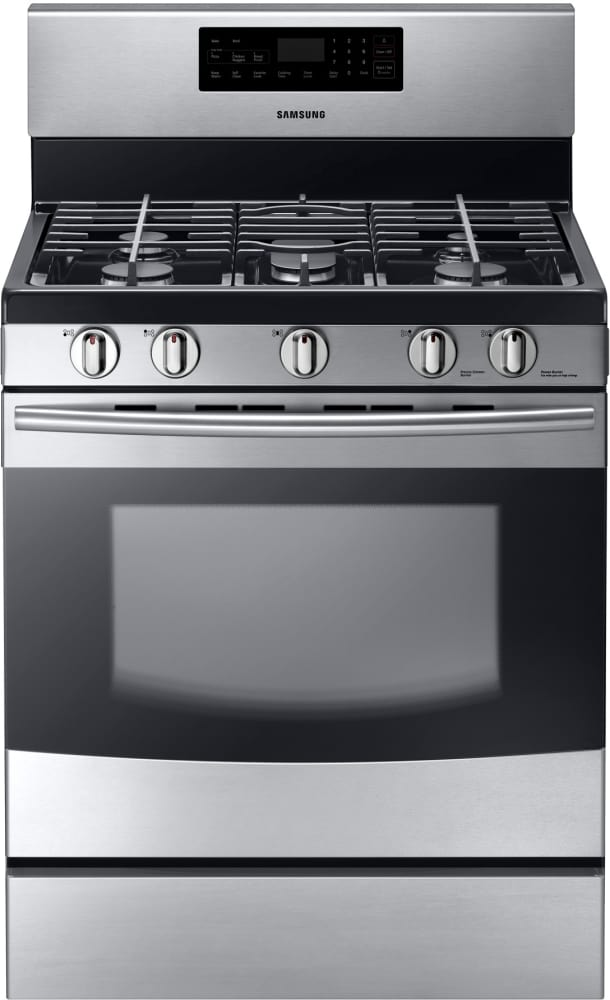 Samsung Nx58f5500ss 30 Inch Freestanding Gas Range With 5