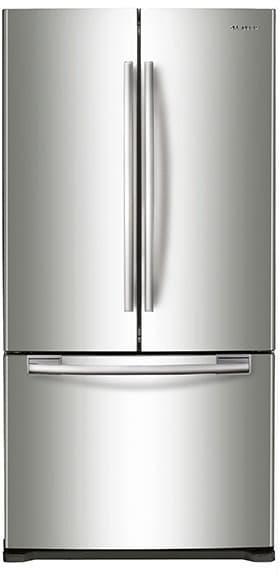 Samsung Rf18hfenb 33 Inch Counter Depth French Door