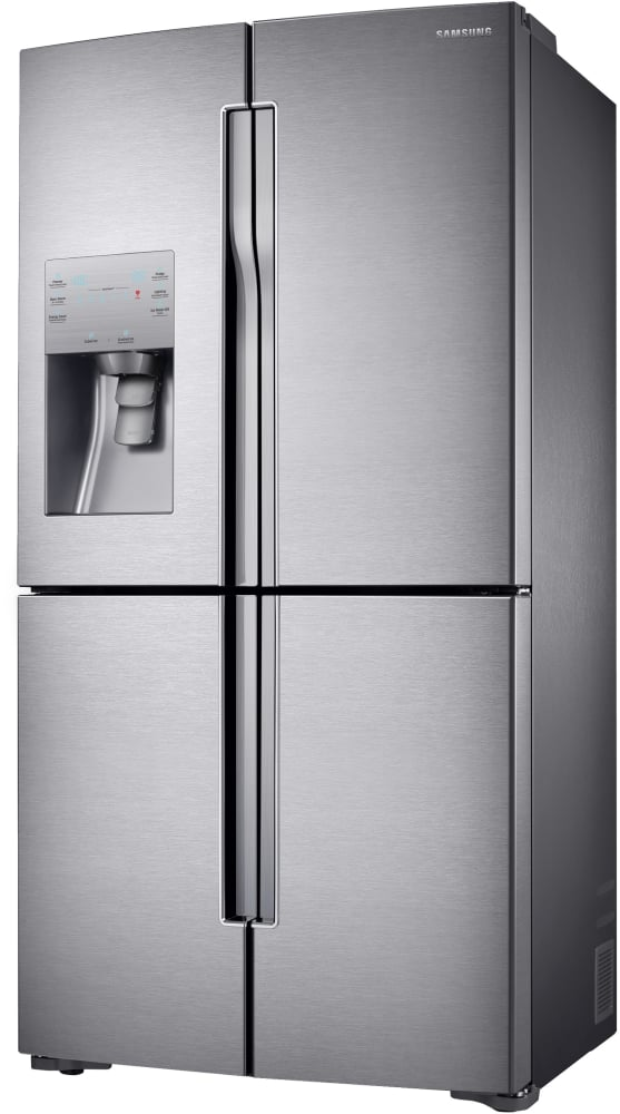 Rf23j9011sr Samsung 4 Door Refrigerator 36 Counter Depth French Door