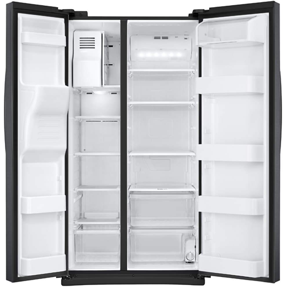 Samsung Rs25j500dsg 36 Inch Side By Side Refrigerator With