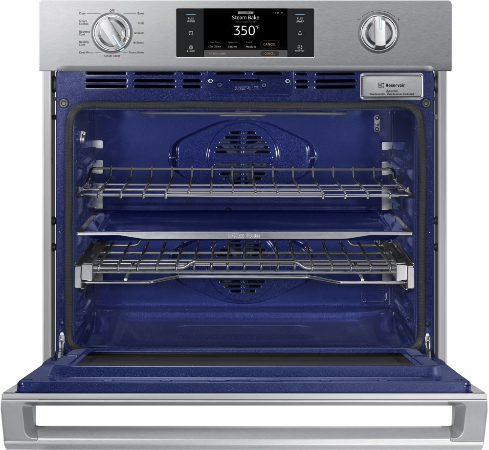 Samsung Nv51k7770ss 30 Inch Wall Oven With 5 1 Cu Ft