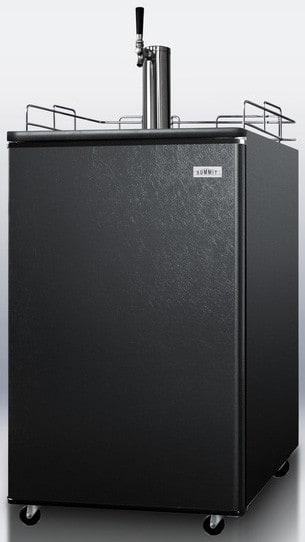 Summit Sbc501b 24 Inch Freestanding Beer Dispenser With