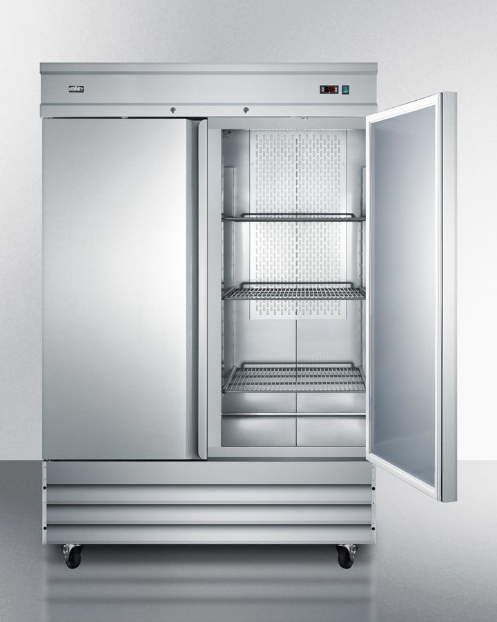 Summit Scff496 54 Inch Commercial Upright Freezer With