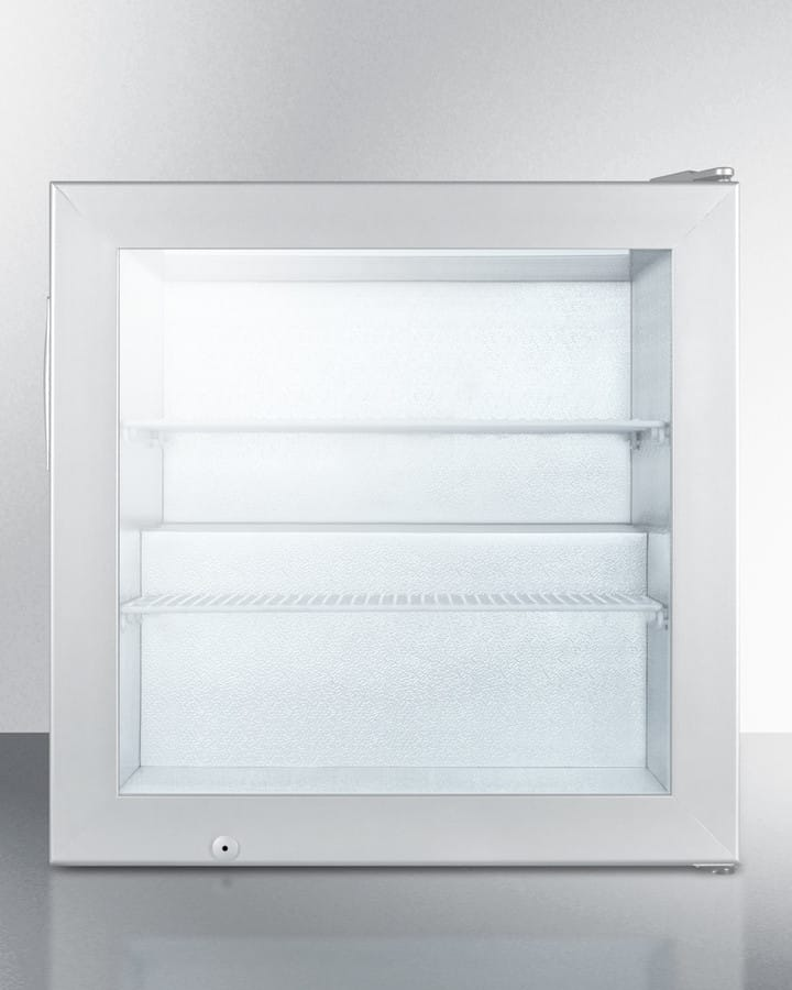 Summit Scfu386css 24 Inch Compact Display Freezer With