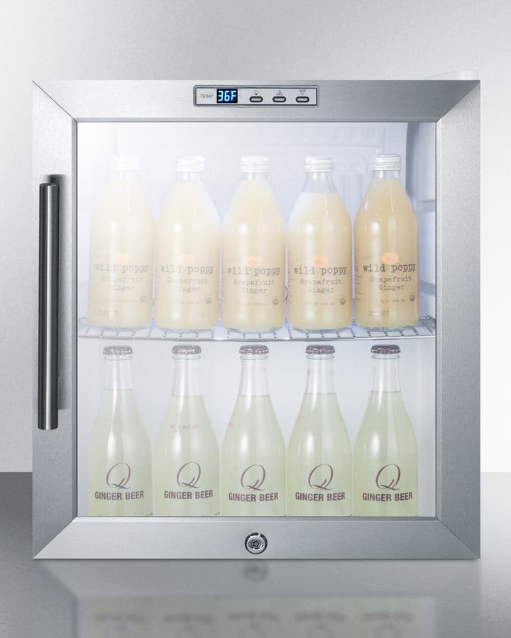 Summit SCR215L 17 Inch Commercial Compact Refrigerator ...