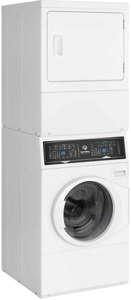Speed Queen Sf7000wg 27 Inch Gas Laundry Center With 9
