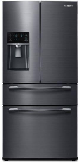 Rf25hmedbsg Samsung Black Stainless Steel 33 Quot French Door