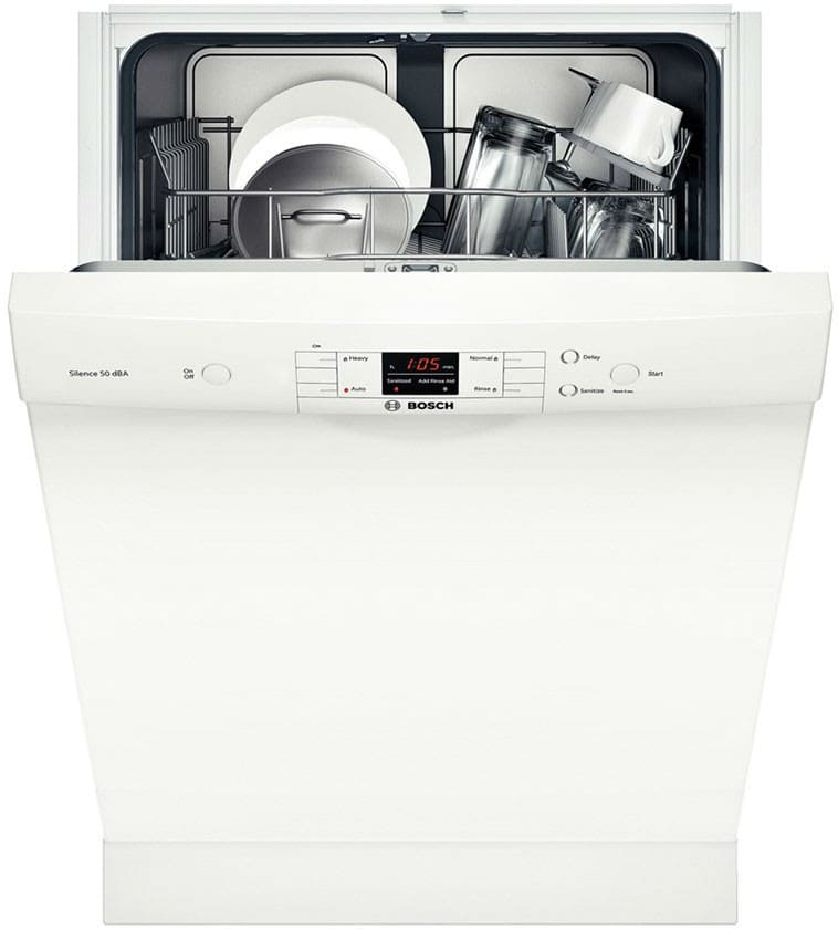 bosch she33t52uc full console built in dishwasher with. Black Bedroom Furniture Sets. Home Design Ideas