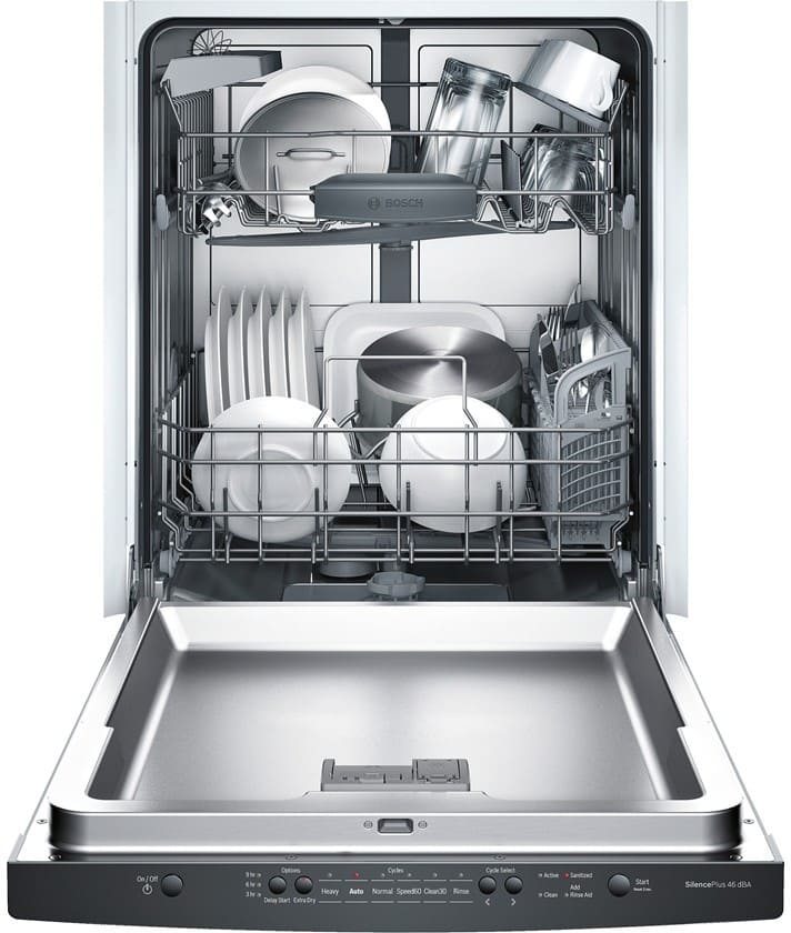 Bosch Shs5avf2uc Fully Integrated Dishwasher With 14 Place