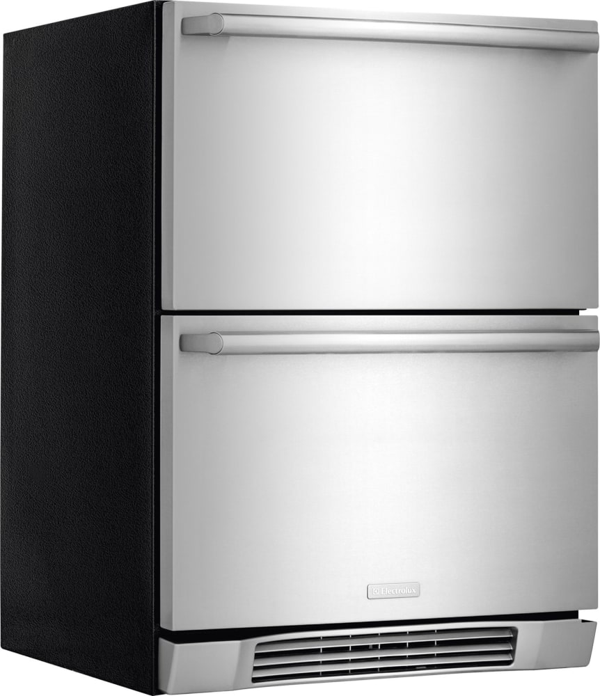 electrolux refrigerator white. electrolux ei24rd10qs - front view side refrigerator white