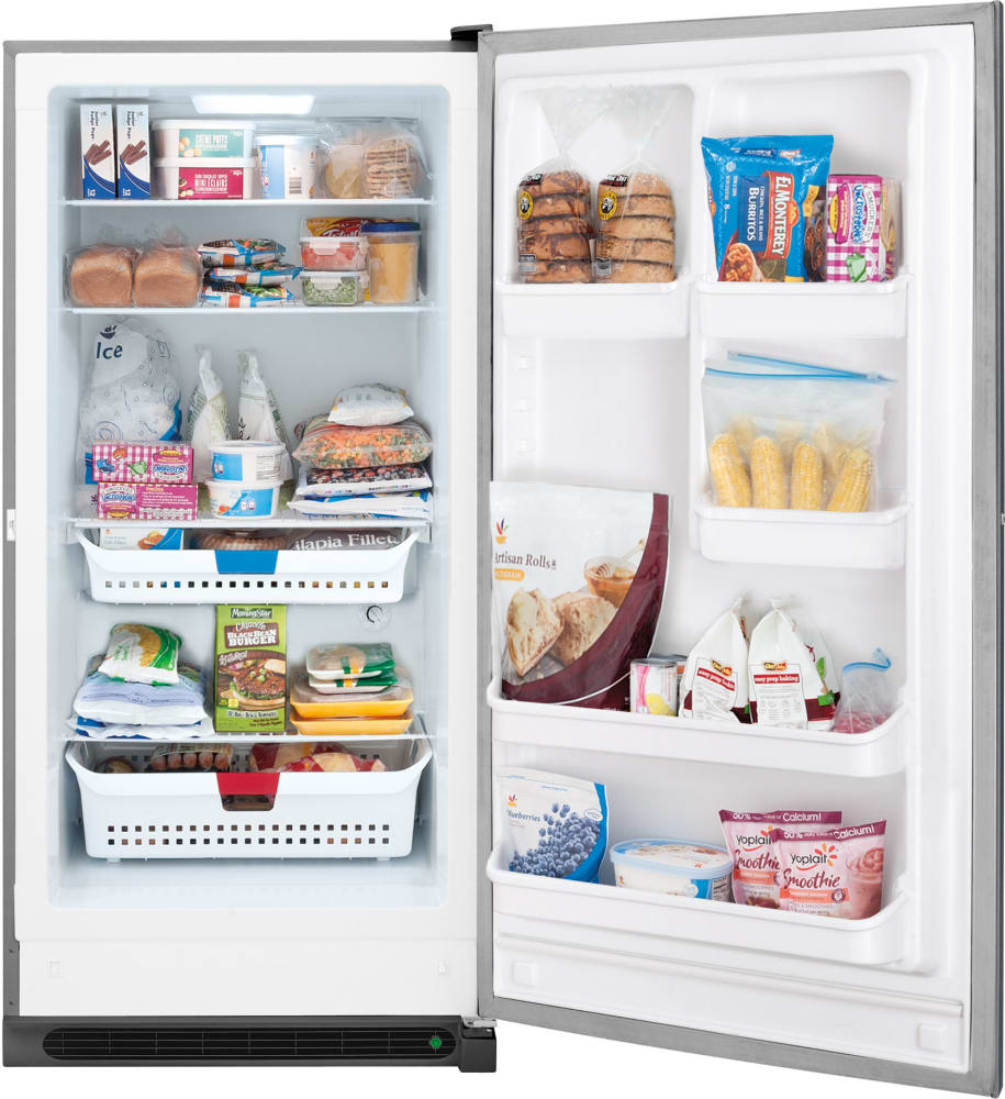 Frigidaire FFFH17F4QT 16.6 cu. ft. Freestanding Upright Freezer with ...