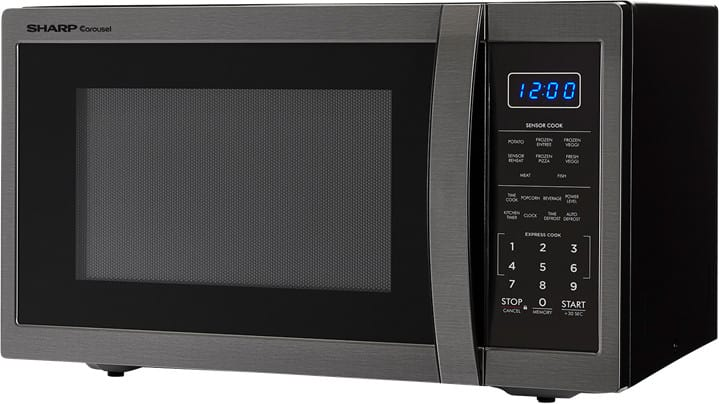 Sharp Smc1452ch 1 4 Cu Ft Countertop Microwave Oven With