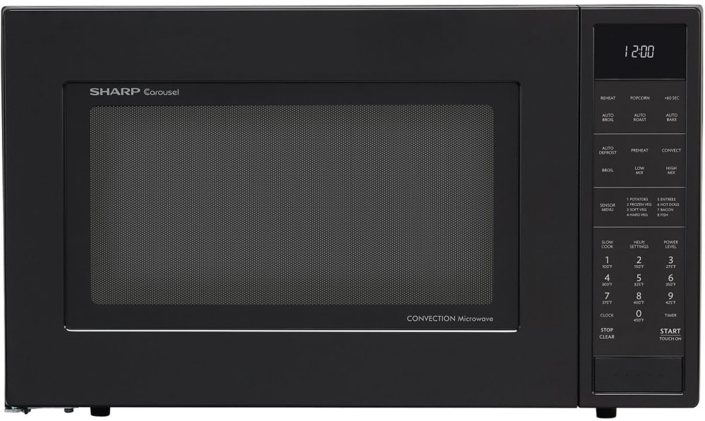 Sharp Smc1585bb S 1 5 Cu Ft Convection Microwave Oven In Black