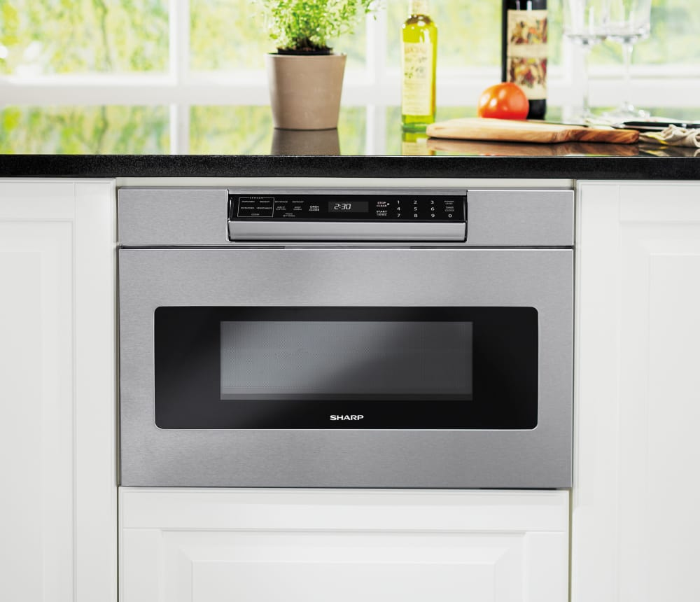 Sharp Smd3070as 30 Inch Microwave Drawer With 1 2 Cu Ft
