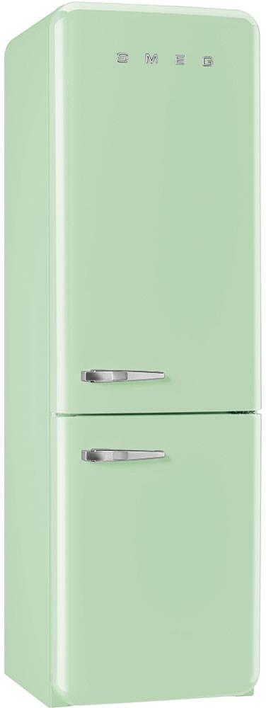 Smeg Fab32upgrn 11 7 Cu Ft Bottom Freezer Refrigerator