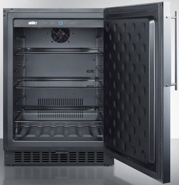 Summit SPR627OSFR 24 Inch Outdoor Undercounter Refrigerator with ...