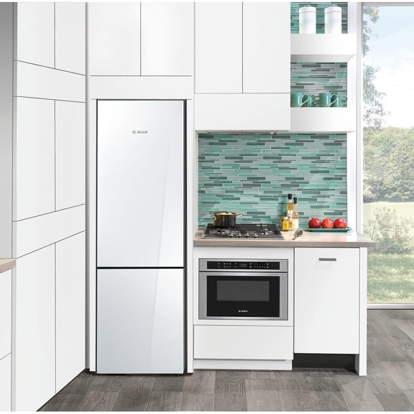 bosch spv68u53uc 18 inch fully integrated dishwasher with aquastop plus infolight rackmatic system sanitize express activetab tray water softener