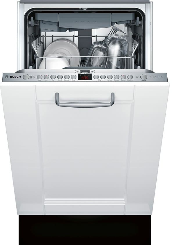 bosch spv68u53uc 18 inch fully integrated dishwasher with. Black Bedroom Furniture Sets. Home Design Ideas