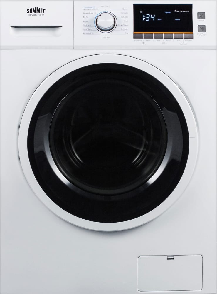 Summit Spwd2200w 24 Washer Dryer Combo For Non Vented Use