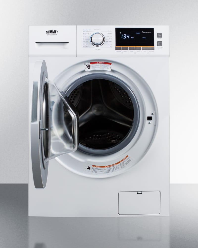 Summit Spwd2200w 24 Inch Front Load Washer Dryer Combo