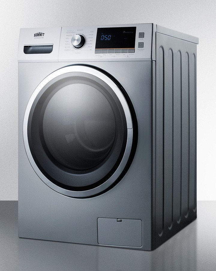 Washer And Dryer In One Part - 38: ... Summit SPWD2201SS - 24 Inch Washer/Dryer Combo For Non-Vented Use