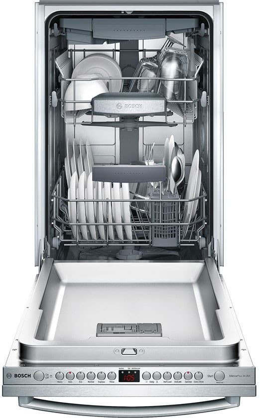 Bosch Spx68u55uc 18 Inch Fully Integrated Dishwasher With 3rd Rack