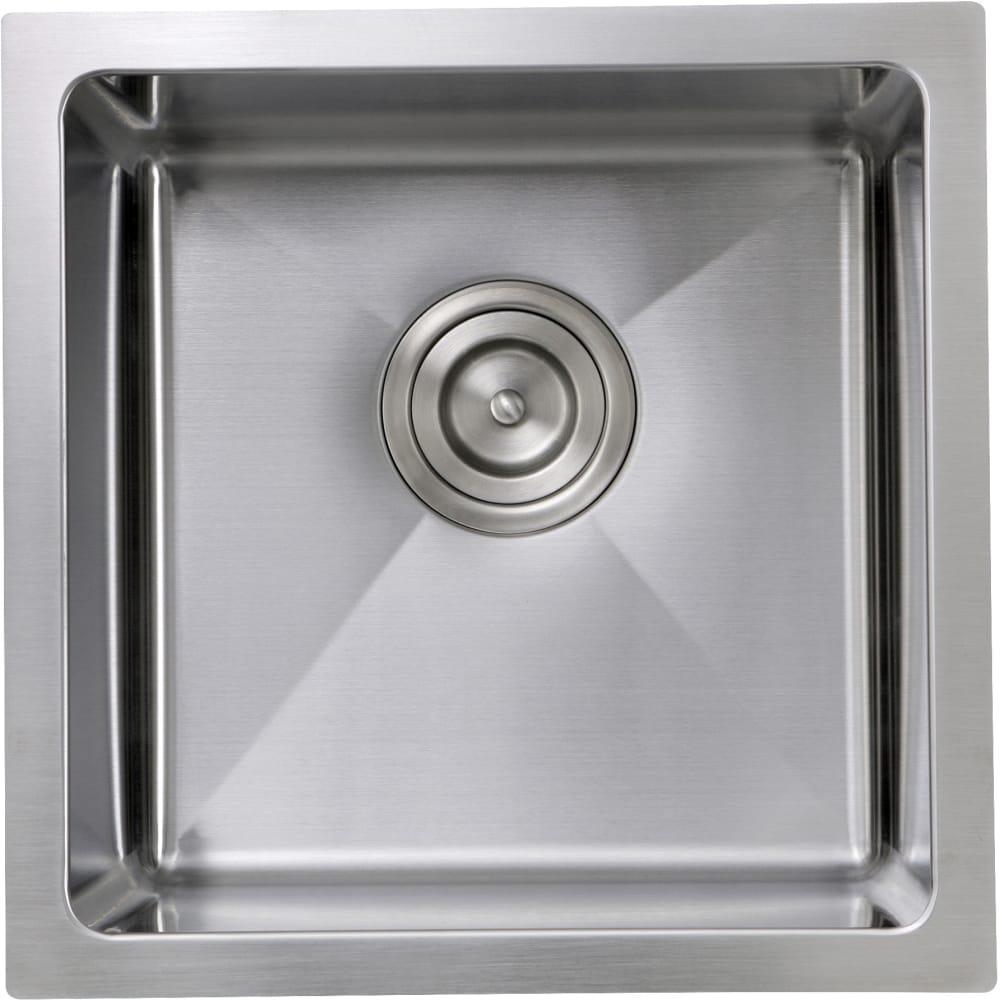 Nantucket Sinks SR1515 15 Inch Undermount Kitchen Sink ...