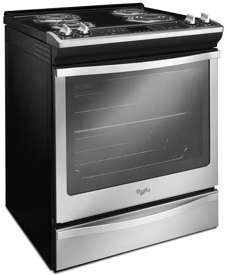 Whirlpool Wec530h0ds 30 Inch Slide In Electric Range With