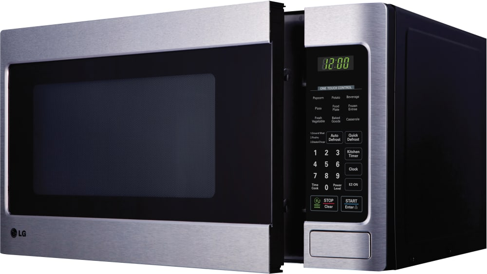 Lg Lcs1112st 1 1 Cu Ft Countertop Microwave Oven With