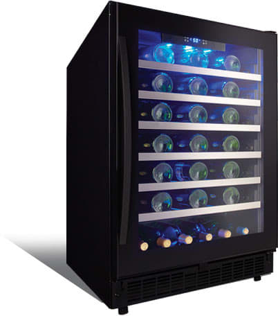 Danby Sswc056d1b 24 Inch Wine Cooler With 48 Bottle