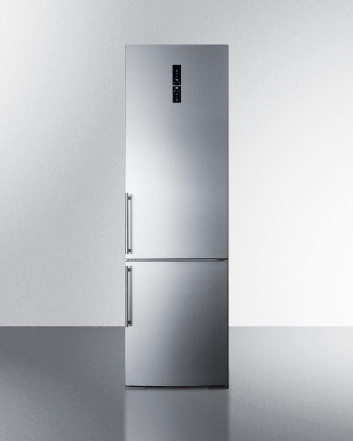 Summit Ffbf181es 24 Inch Bottom Freezer Refrigerator With