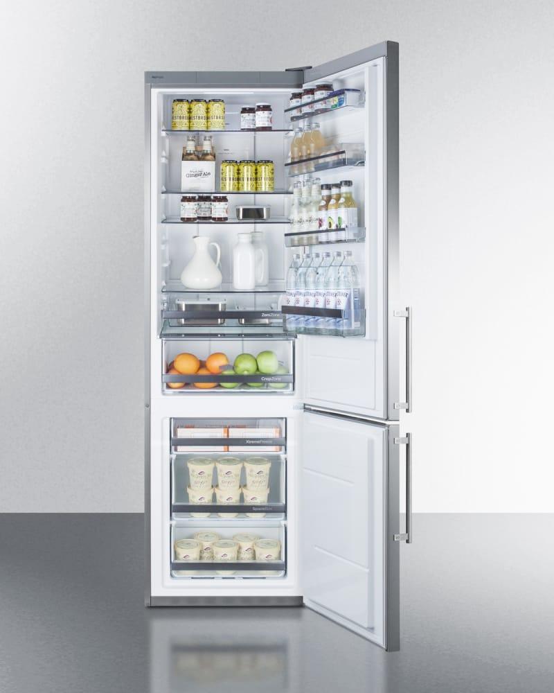 Summit Ffbf181esbi 24 Inch Built In Bottom Freezer