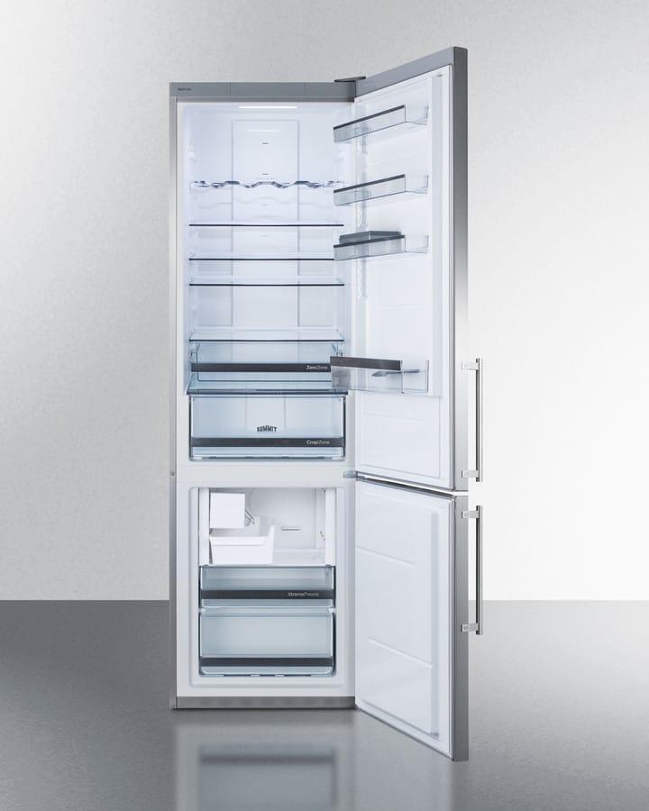 Summit Ffbf181esim 24 Inch Counter Depth Bottom Freezer