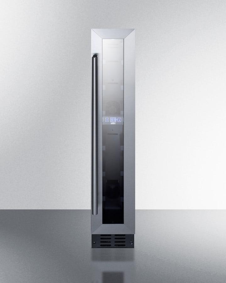 Summit Swc007 6 Inch Built In Undercounter Wine Cellar