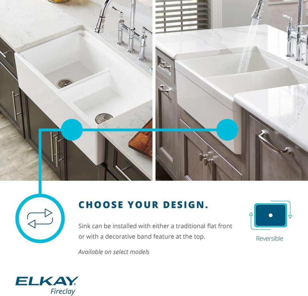 Elkay SWUF28179WH 30 Inch Single Bowl Undermount Farmhouse Kitchen on kohler fireclay sinks, white undermount bar sinks, single bowl kitchen sinks, elkay fireclay sinks, franke fireclay sinks, rohl sinks, ferguson sinks, square undermount bathroom sinks, stainless steel kitchen sinks,