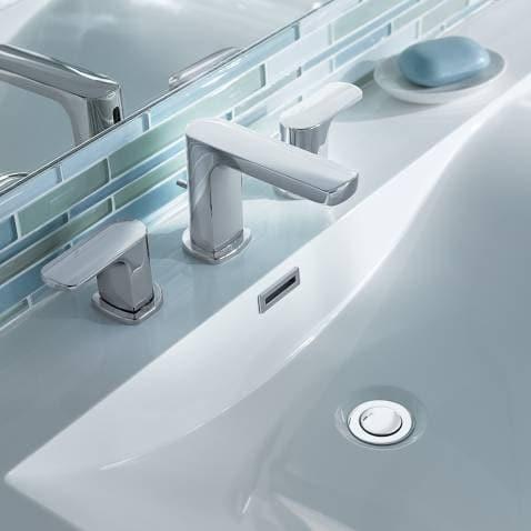 Moen T6920 Chrome Two-Handle Low Arc Bathroom Faucet on discontinued moen faucets, moen 4600 faucet, moen caldwell collection, moen single handle faucet repair, moen laundry faucet, moen replacement parts, moen bathtub fixtures, moen t6125, moen shower fixtures, moen bar sink, moen voss, moen handicap faucets, moen two handle lavatory faucet, moen kingsley faucet, moen faucet models, moen faucets brand, moen water faucets, moen faucet repair parts 97556, moen shower systems, moen monticello faucet repair,