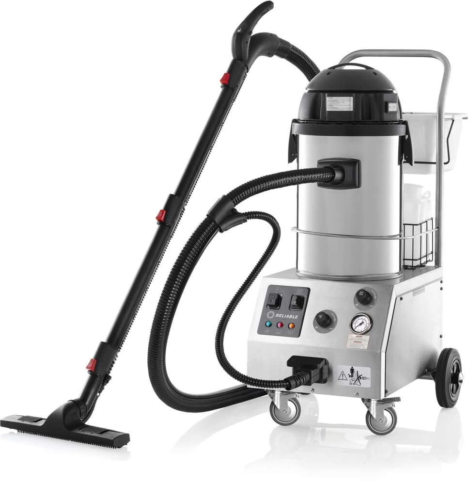 Reliable 2000cv tandem pro 2000cv commercial steam cleaner steam reliable 2000cv steam vacuum cleaner with floor brush dailygadgetfo Images