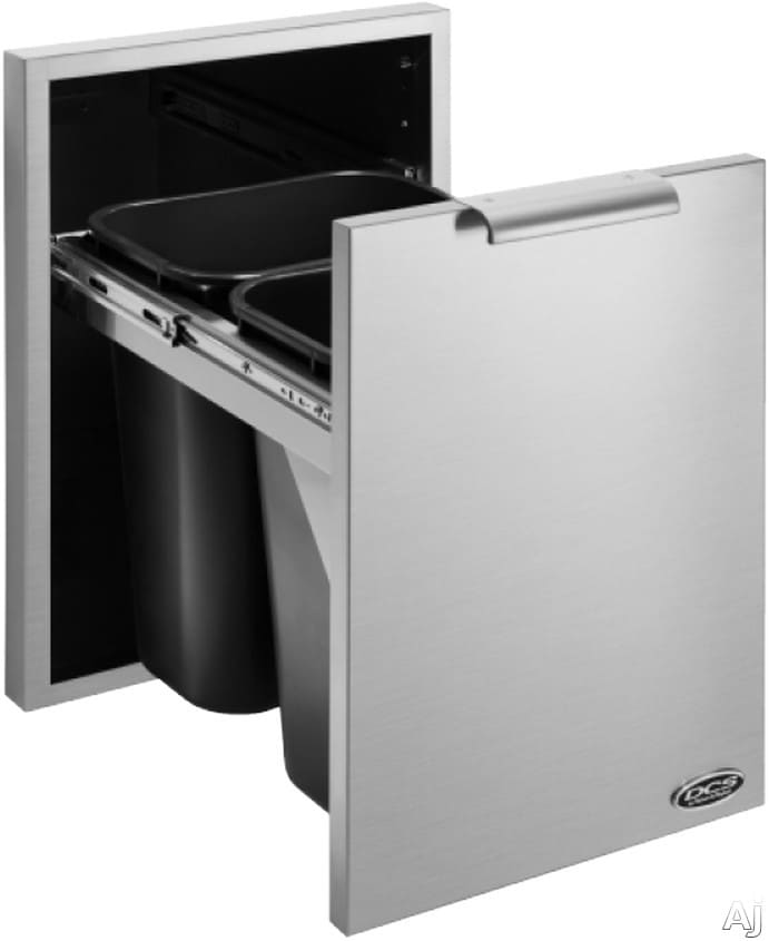 Dcs Tb120 20 Inch Built In Outdoor Trash And Recycle Bin