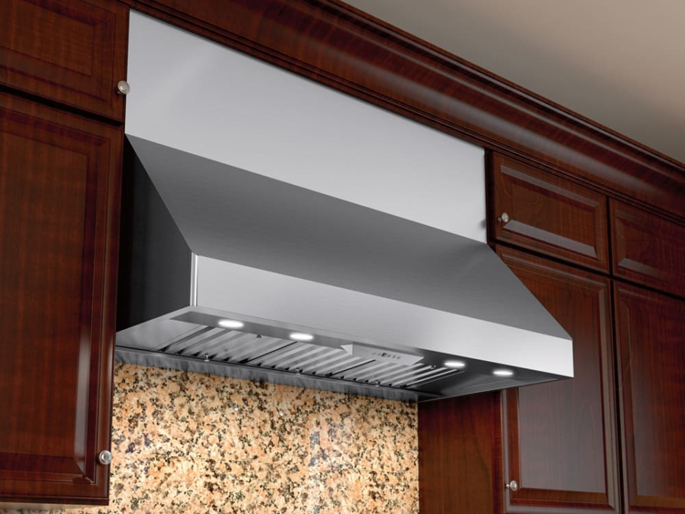 Zephyr Ak7554bs 54 Inch Pro Style Wall Hood With 6 Speed