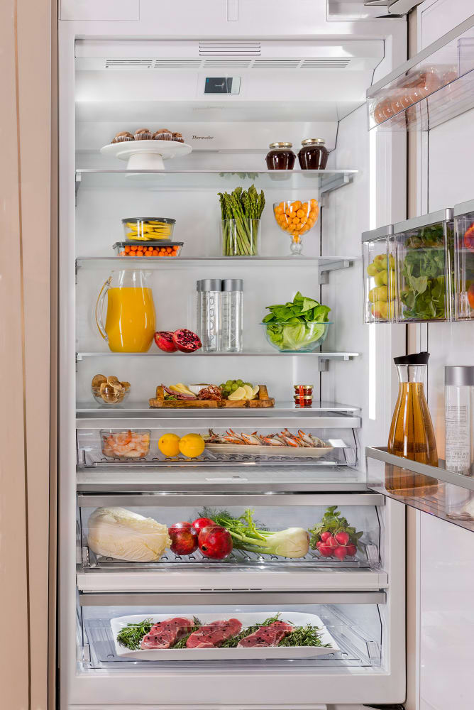 Thermador T36ir900sp 36 Inch Built In Refrigerator Column