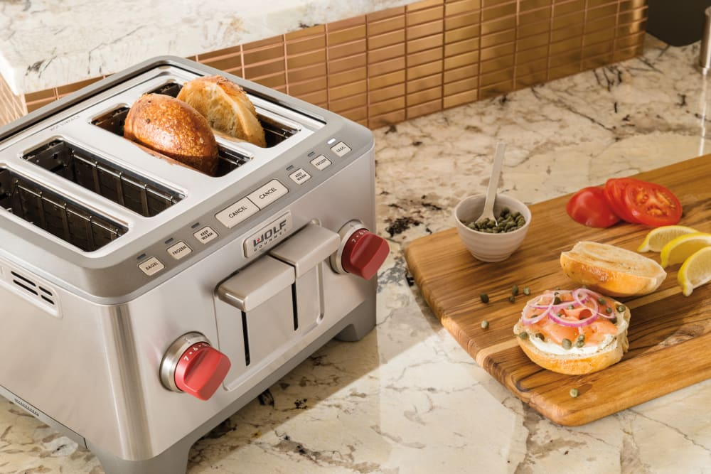 Wolf Gourmet Wgtr104s Countertop Toaster With 4 Slice