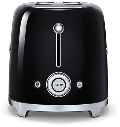 Smeg TSF02BLUS Countertop Toaster with 4 Slice Capacity Defrost
